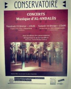 Concert Musique d'Al-Andalûs