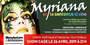 Myriana et la sentence Divine – 26 Avril 2019